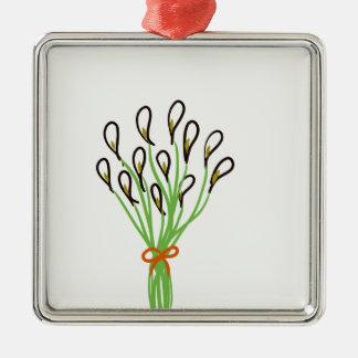 Calla Lilies Metal Ornament
