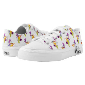 Calla Lillies Low-Top Sneakers