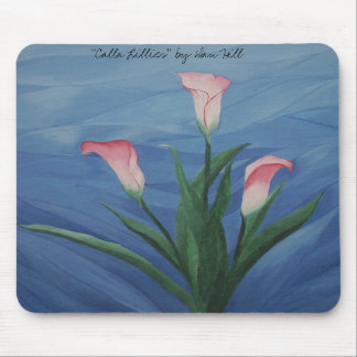 """Calla Lillies"" Mousepad"