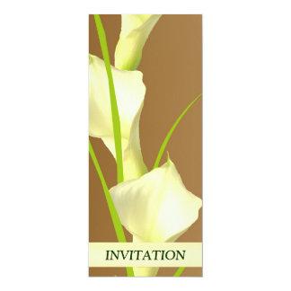 Calla Lillies Wedding Invitation