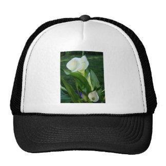 Calla Lillies (white) Trucker Hat
