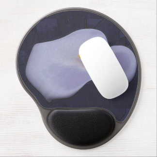 Calla Lilly Illustration Gel Mouse Pad