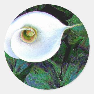 Calla Lily 2011 Round Sticker