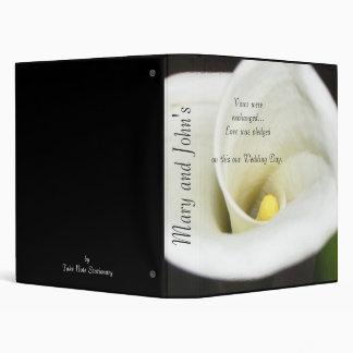 Calla Lily Album 3 Ring Binder