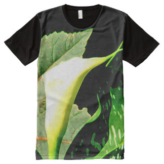 Calla Lily All-Over-Print T-Shirt