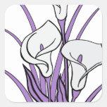 Calla Lily Design Stickers