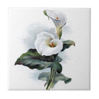 Calla Lily Design Tile