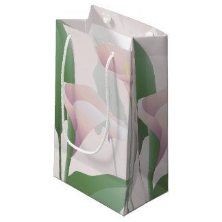Calla Lily Floral SGB Small Gift Bag