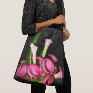Calla Lily Flowers Photography Shoulder Bag Tote
