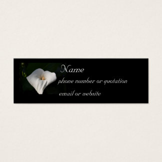 Calla Lily - profile card