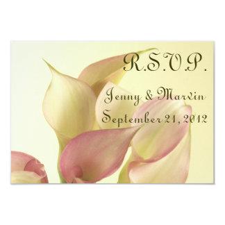 Calla Lily R.S.V.P. Card