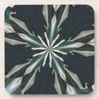 Calla Lily Star Kaleidoscope Coaster