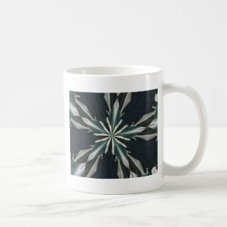 Calla Lily Star Kaleidoscope Coffee Mug