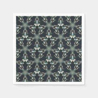 Calla Lily Star Kaleidoscope Disposable Napkin