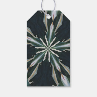 Calla Lily Star Kaleidoscope Gift Tags