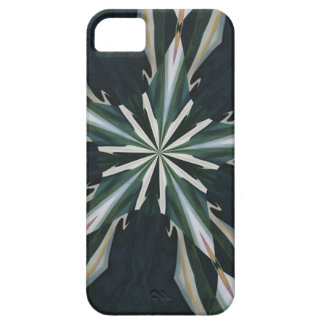 Calla Lily Star Kaleidoscope iPhone 5 Cases