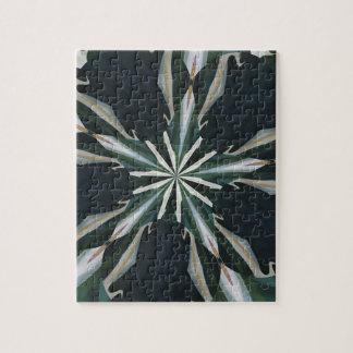Calla Lily Star Kaleidoscope Jigsaw Puzzle