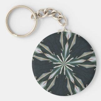 Calla Lily Star Kaleidoscope Keychain