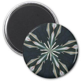 Calla Lily Star Kaleidoscope Magnet