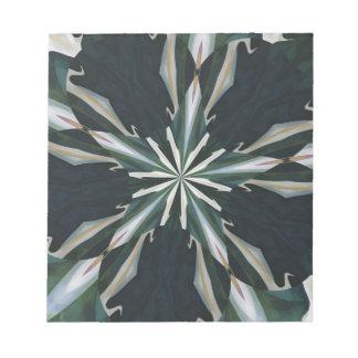 Calla Lily Star Kaleidoscope Notepad