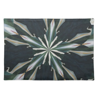Calla Lily Star Kaleidoscope Placemat