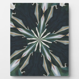 Calla Lily Star Kaleidoscope Plaque