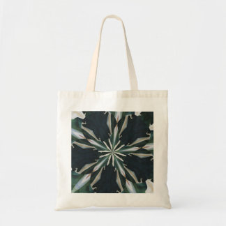 Calla Lily Star Kaleidoscope Tote Bag