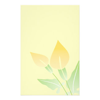 Calla Lily Stationery-Floral Stationery