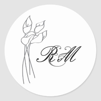Calla Lily Sticker