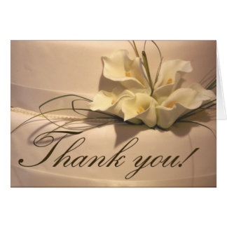 Calla Lily Thank you Cards