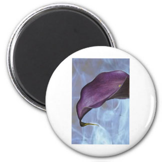 Calla Lily Tipify 2 Inch Round Magnet