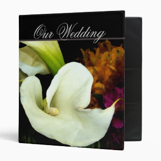 Calla lily Wedding Planner Binders