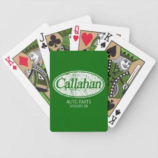 Callahan Auto Parts Bicycle® Playing Cards