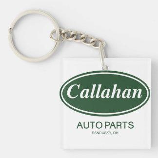 Callahan Auto Parts Double-Sided Square Acrylic Keychain