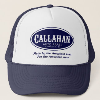 Callahan Auto Parts Logo Trucker Hat