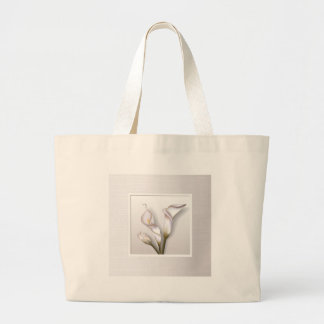 Callas in Frame Large Tote Bag