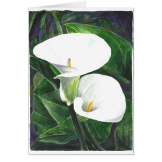Calle Lilies Card