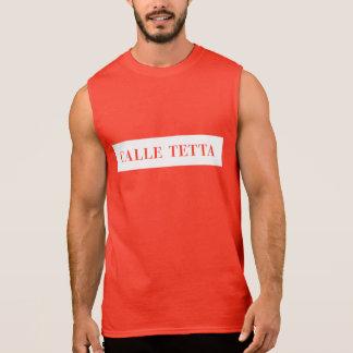 Calle Tetta, Venice, Italian Street Sign Sleeveless Shirt