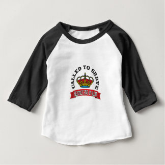 called to serve the heavenly king of glory red baby T-Shirt