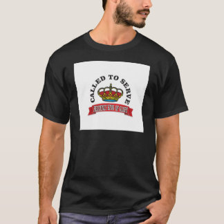 called to serve the heavenly king of glory red T-Shirt