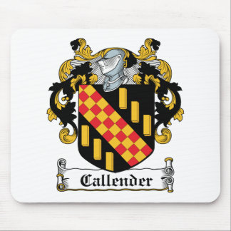 Callender Family Crest Mouse Pad