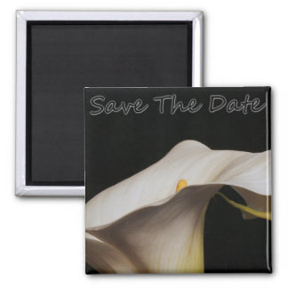 Calli Lillie Save The Date Square Magnet