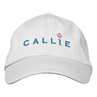 Callie Hat - white Baseball Cap