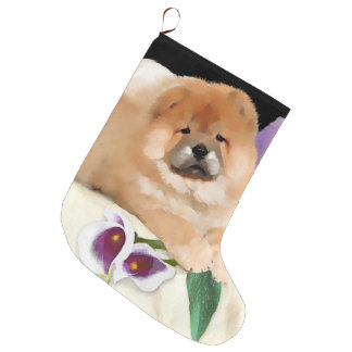 CALLIE heARTdog chow Xmas stocking