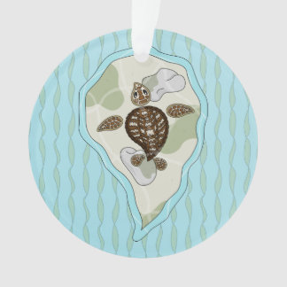 Callie the Sea Turtle Acrylic Ornament