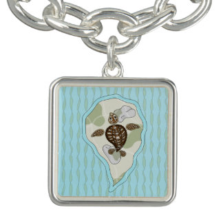 Callie the Sea Turtle Charm Bracelet