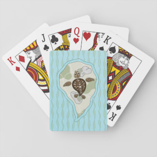 Callie the Sea Turtle Classic Playing Cards