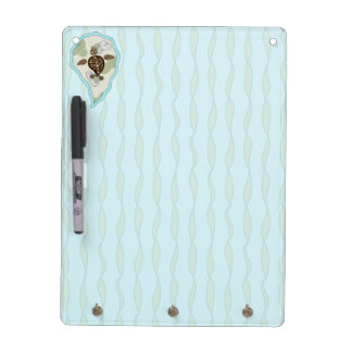 Callie the Sea Turtle Dry Erase Board