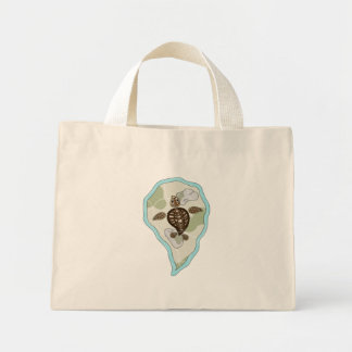 Callie the Sea Turtle Light Tote Bag