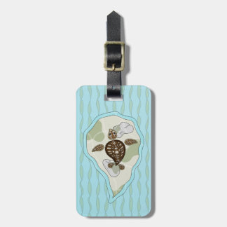 Callie the Sea Turtle Luggage Tag
